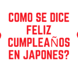 ¿Como se dice feliz cumpleaños en japonés?